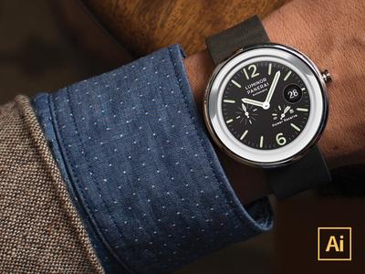 Moto360 Vector Watchface