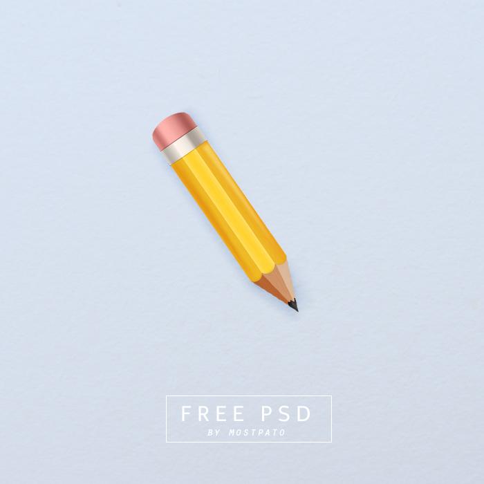 Psd Pencil Free