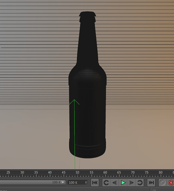 Bottle Beer Mockup PSD