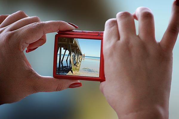 Free PSD Digicam Templates Realistic Camera mockups