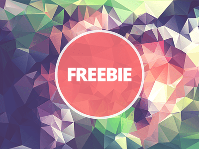 Free Polygonal Low Poly Background Texture Vol.1