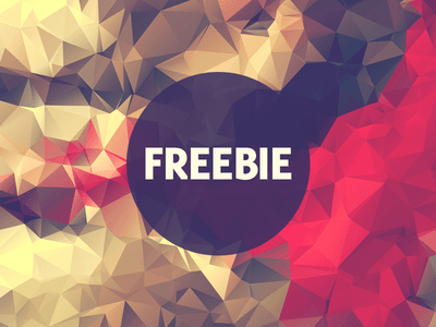 Free Polygonal Low Poly Background Texture Vol.15