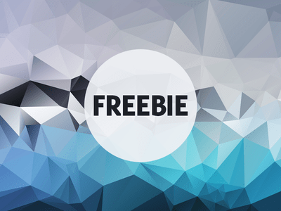 Free Polygonal Low Poly Background Texture Vol.17
