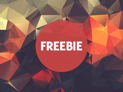 Free Polygonal Low Poly Background Texture Vol.3