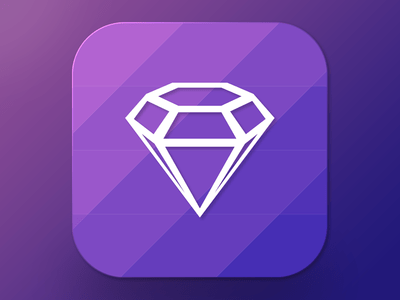 Freebie Sketch Icon Diamond