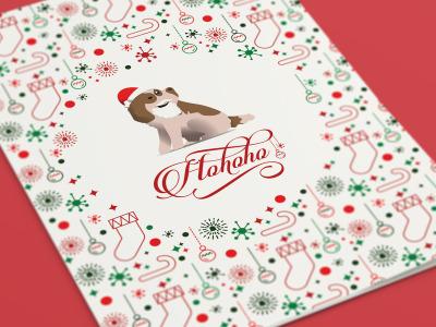 Christmas Greeting Card PSD