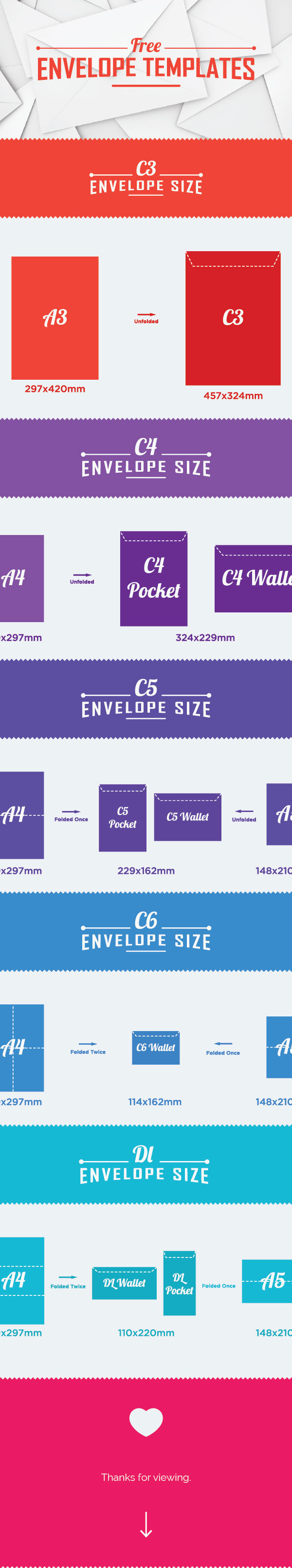Free Envelope Templates Download
