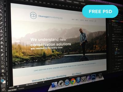 Free PSD Homepage Design Company