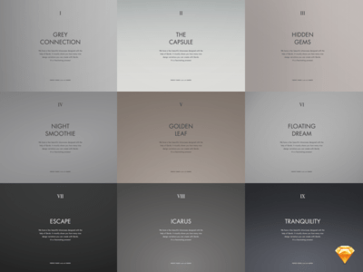 Gradients Background Free sketch Kit