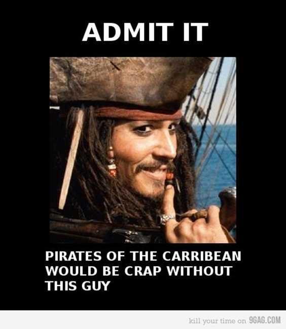 100 Johnny Depp Funny Captain Jack Sparrow Quotes 95
