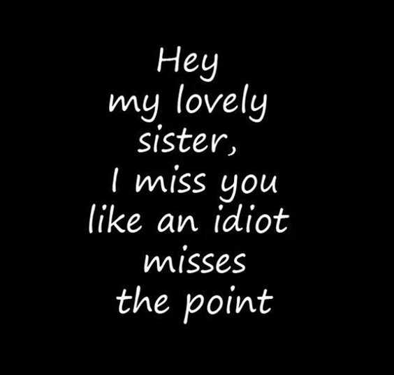 28 Funny Sister Quotes To Laugh Challenge 1