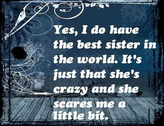 28 Funny Sister Quotes To Laugh Challenge 4