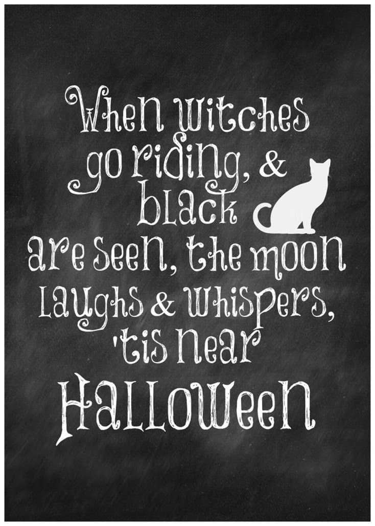 15 Funny Halloween Memes Printables for You 5