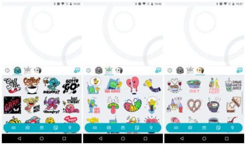Google Allo-Sticker