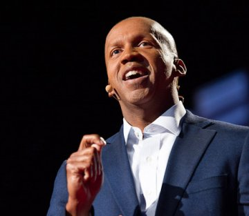 Bryan Stevenson Beats the Drum for Justice