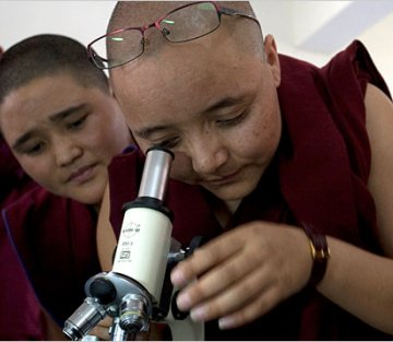 Teaching Brain Science to Monks and Nuns