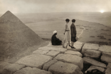Ladies atop the Great Pyramid