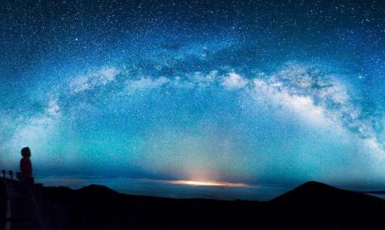 Milky Way Total Perspective Vortex