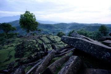 Gunung Padang Indonesia Megalithic Pyramid