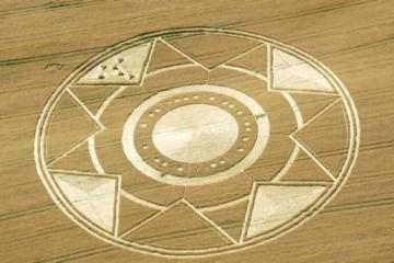 Crop Circle in Italy