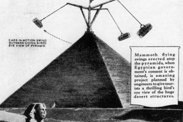 Great Pyramid Amusement Park Ride