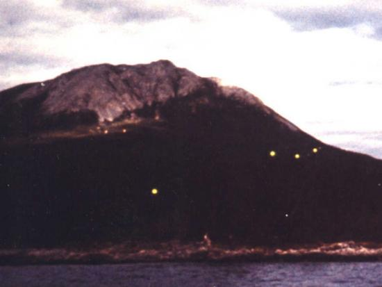 Anomalous lights at Tagish Lake in the Yukon