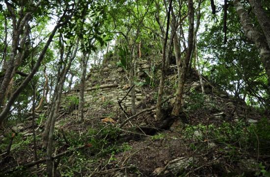 Lost Maya Pyramid