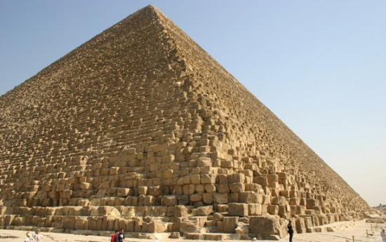 Pyramid of Khufu (by Bradipus, Creative Commons Licence)
