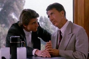 Dustin Hoffman as an autistic savant in Rain Man