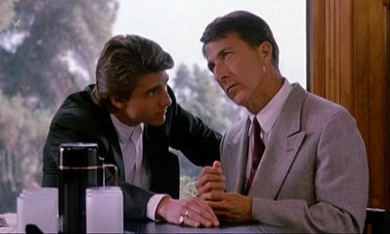 Dustin Hoffman as an autistic savant in Rain Man