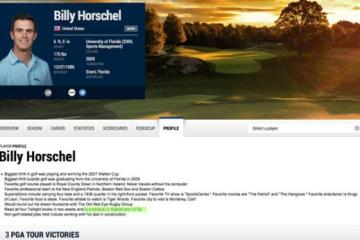 Billy Horschel, Pro Golfer and Believer in Bigfoot and UFOs