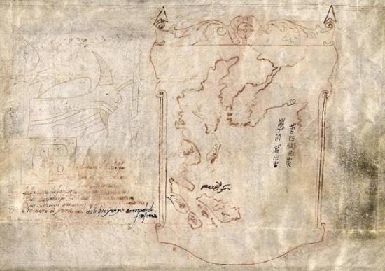 Early Map of the Americas?
