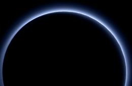 Pluto Blue Skies New Horizons NASA
