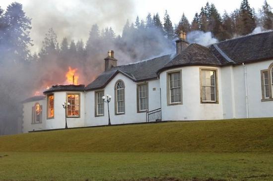 Boleskine House fire