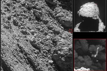 Philae Lander Found on Asteroid