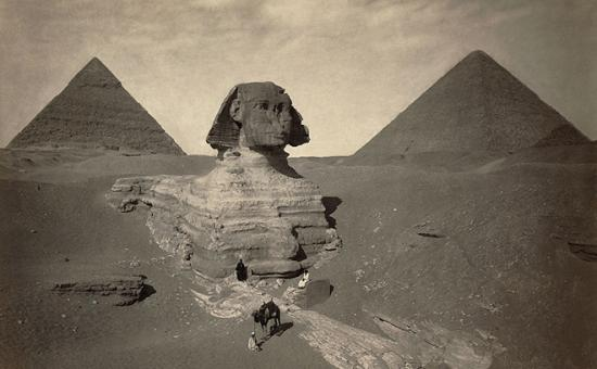 Pyramids and Sphinx at Giza, Egypt