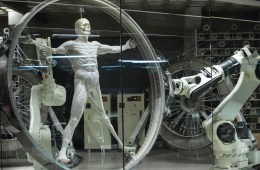 Vitruvian Man in Westworld