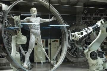 Vitruvian Man in Westworld