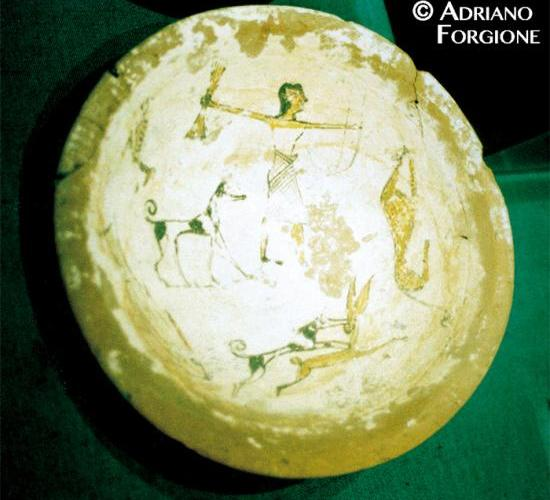 Pre-Dynastic dish with astronomical symbolism © Adriano Forgione