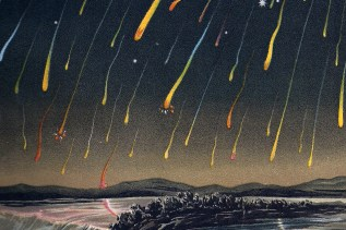 1833 Leonid meteor storms