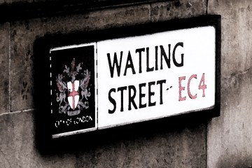 Watling Street sign
