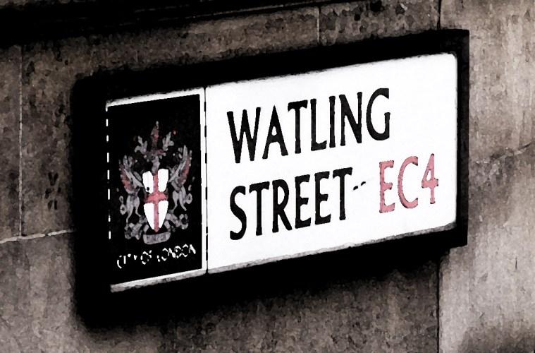 Watling Street sign