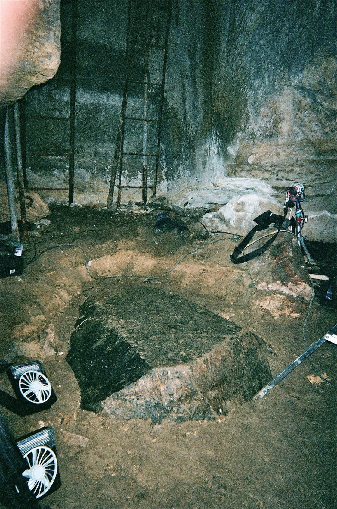 Slab on floor of 'Tomb of Osiris'