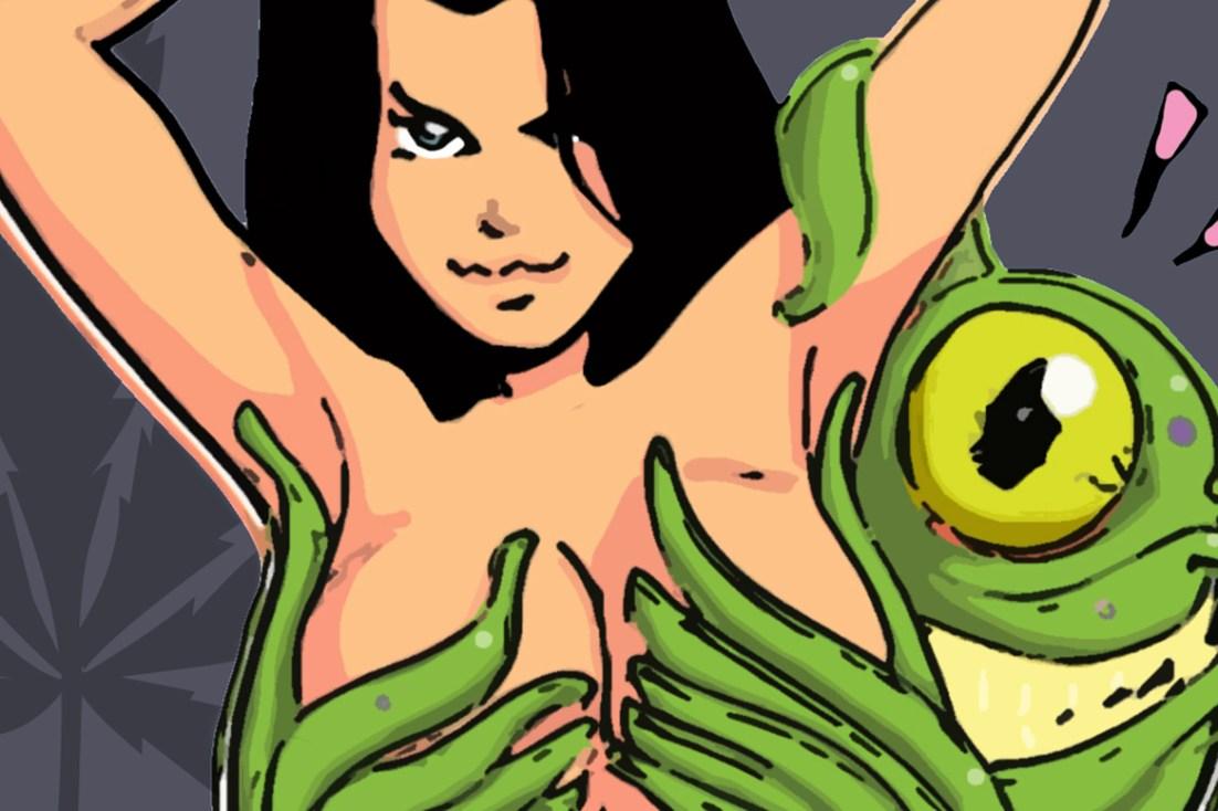 Alien Sex Cartoon