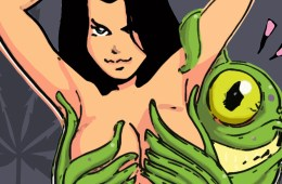 Alien Sex Cartoon