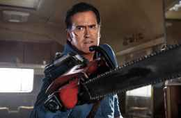 Ash from Evil Dead's chainsaw hand