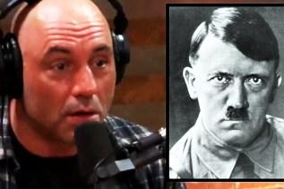 Joe Rogan's reaction to the 'Hitler Escaped' Conspiracy