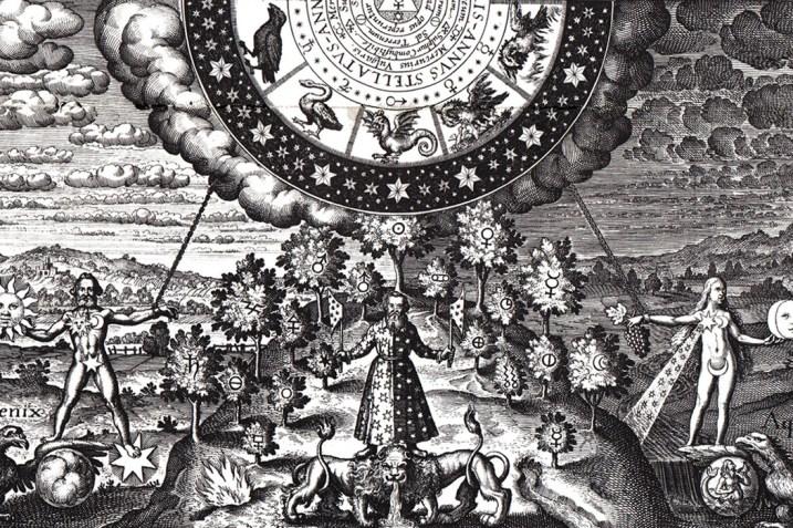 Alchemical illustration