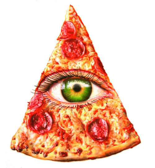 Illuminati pizza
