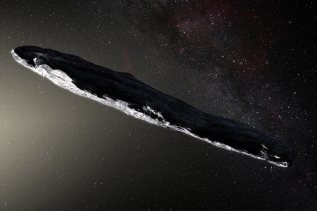 'Oumuamua cigar-shaped comet